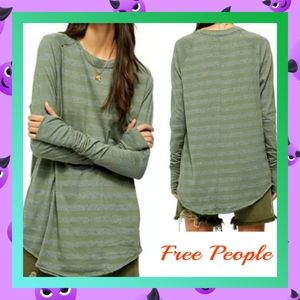 COMING SOON♥️  Free People Arden Striped Tee
